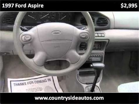 auto repair manual online 1997 ford aspire head up display 1995 ford aspire problems online manuals and repair information