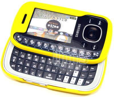 Casing Hp Samsung B3310 Yellow Hybrid For Samsung B3310 Corby Mate Ebay