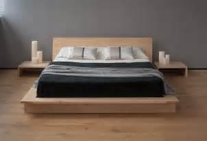 Platform Bed Low Oregon Low Platform Bed Solid Wood Bed Co