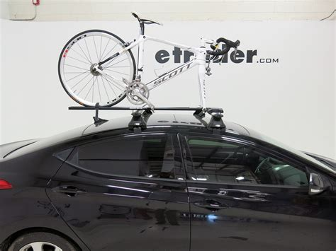 roof rack for hyundai elantra 2011 hyundai elantra rhino rack mountaintrail rooftop bike