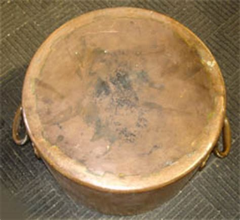 antique pot metal ls copper pot