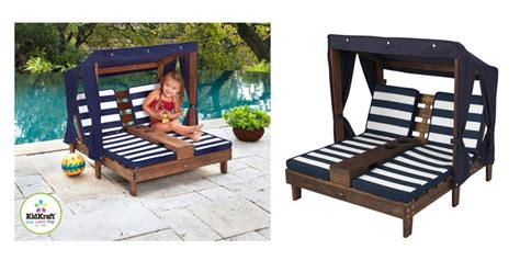 costco chaise kidkraft double chaise lounger 163 69 99 delivered costco