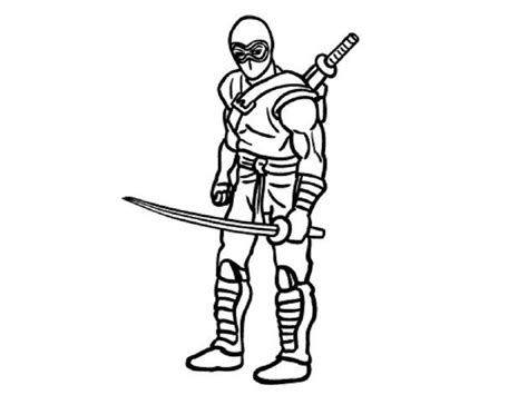 coloring pages of ninja warriors army ninja coloring pages coloring home