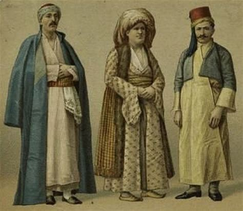 important people in the ottoman empire costumes from different regions of the ottoman empire