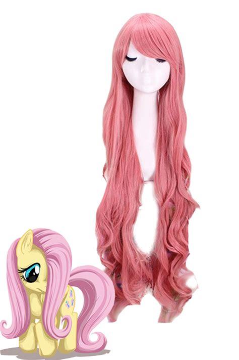 Longc Pinj Small china anime pink cos hair wig cw200