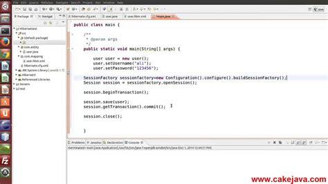 hibernate tutorial video youtube tutorial 5 hibernate save object youtube
