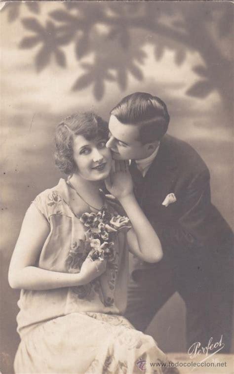 fotos antiguas romanticas postal romantica antigua pareja novios muje comprar