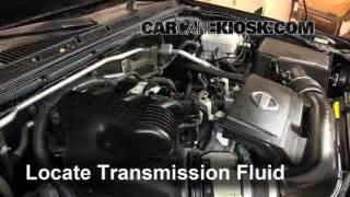 Nissan Xterra Transmission Fluid Add Transmission Fluid 2005 2014 Nissan Xterra 2011