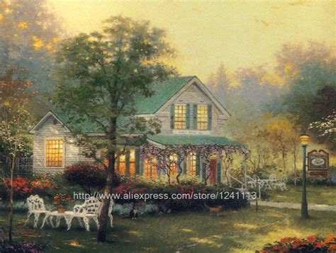 aliexpress buy kinkade prints of painting