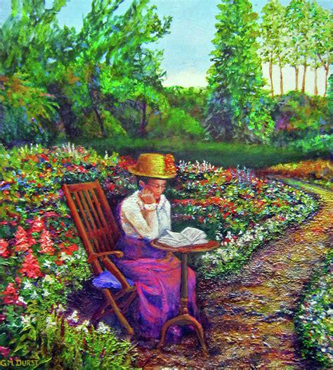 Grandmas Garden by S Garden Path By Michael Durst