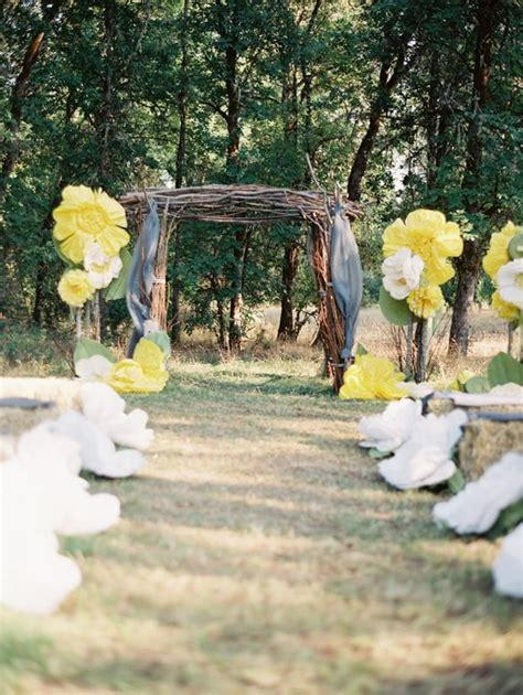 Backyard Wedding Ceremony Decoration Ideas Picture Of Amazing Backyard Wedding Ceremony Decor Ideas 17