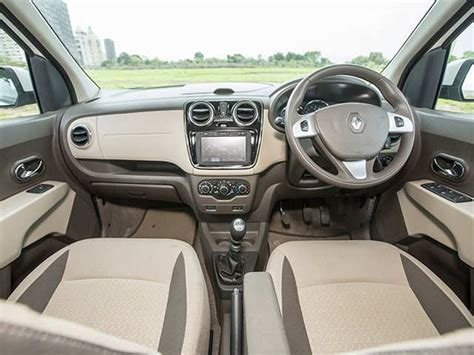 renault lodgy interior lodgy is larger than the mobilio renault lodgy vs honda