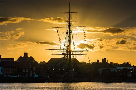 buy a boat hartlepool hms trincomalee hartlepool sunset landscapes of the
