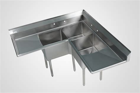 stainless steel corner sink 3 compartment stainless sinks 3 bowl commercial kitchen