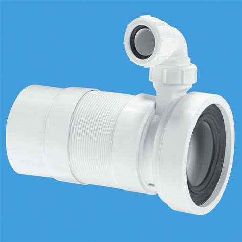 Flexible Drain Pipe For Sink by Mcalpine Long Flexible Pan Connector Spigot With Basin