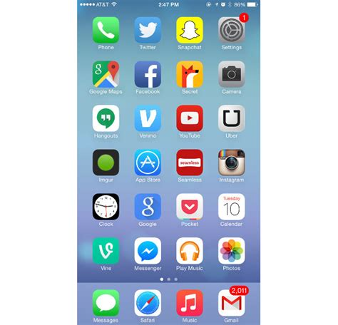 iphone phone layout best iphone home screen layout images