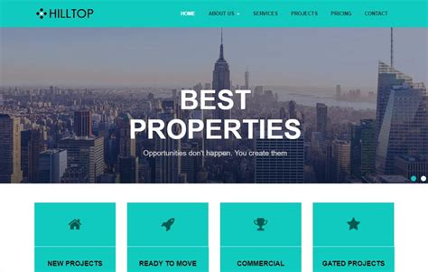 templates bootstrap real estate real estate bootstrap free html web template download