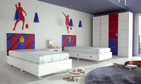 barcelona bedroom fc barcelona bedroom for two kids kids rooms pinterest