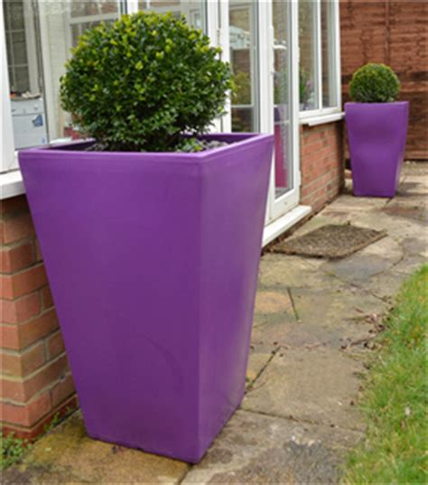 Purple Planter by Blooming Marvelous Cambridge Purple Large Planter