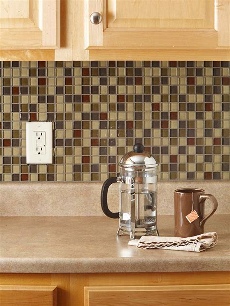 Diy Tile Kitchen Backsplash | diy weekend project give your kitchen a makeover with a