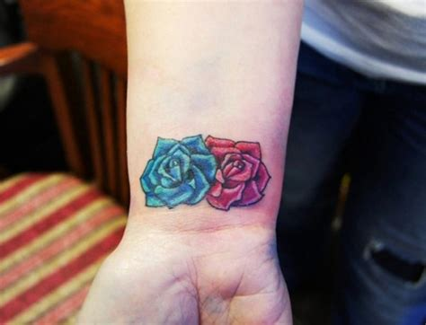 blue flower tattoo 31 beautiful flower tattoos design on wrist