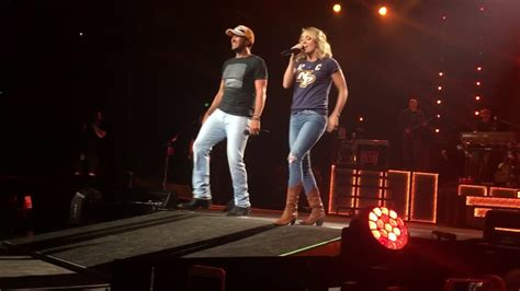 luke bryan duet luke bryan carrie underwood duet play it again live