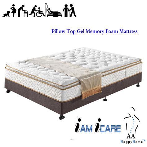 Memory Foam Or Pillow Top by Pillow Top Gel Memory Foam Mattress