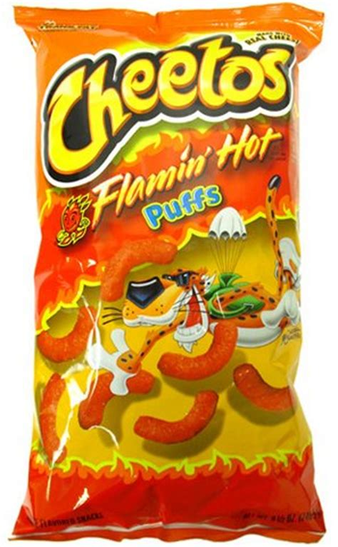 cheetos flamin puffs jumbo 8 5 oz pack of 3