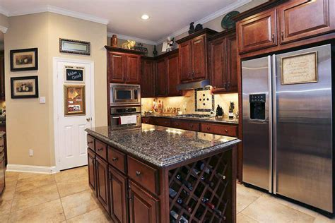 kitchen island with wine rack 74 kitchen design gallery the ultimate solution to