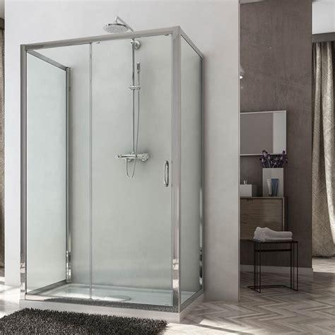 ante doccia box doccia due ante fisse e anta fissa con porta