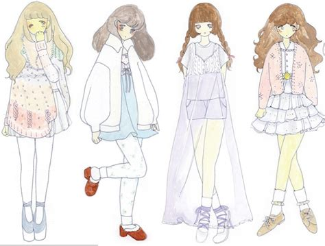 O Anime Clothing by Drawing Anime Clothes Pastel Pale Daisyinsteadofheart