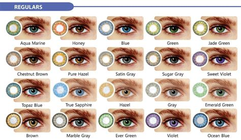 best color contacts for best colored contacts for brown search