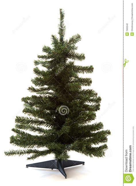 bare christmas tree stock photography image 7660542