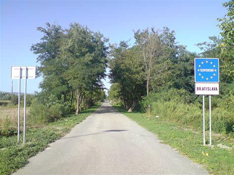 Motorradtouren Weinviertel by Slowakische Grenz 252 Berg 228 Nge In Die Nachbarstaaten