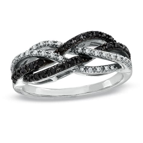 black rings zales wedding promise