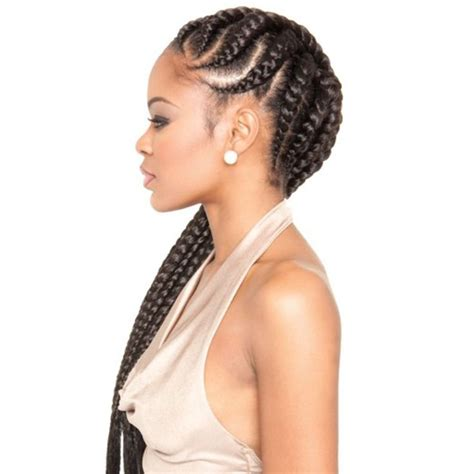 ethnic braid hairstyles best 25 big cornrow braids ideas on pinterest