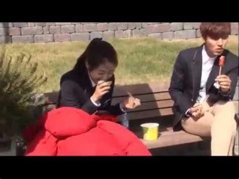 youtube film lee min ho the heirs the heirs lee min ho park shin hye 상속자들 behind the
