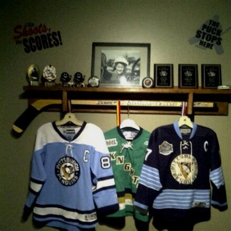 Sport Shelf by Sports Shelf Can Hang Hockey Jerseys Medals And