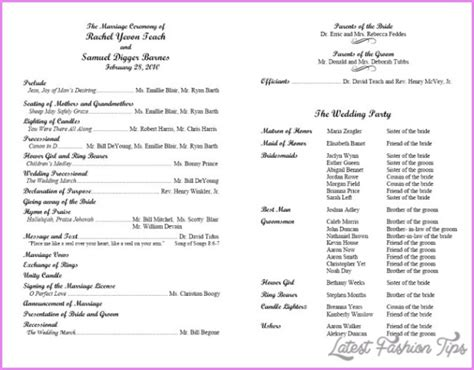 Musical Program Template by Church Musical Program Template Pictures To Pin On