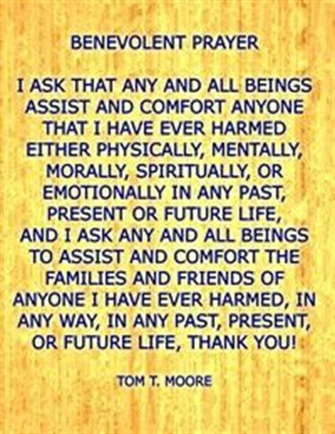 benevolent outcome mbo   prayer  assist