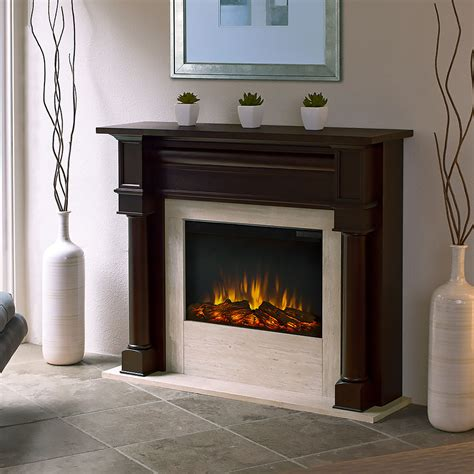 Walnut Electric Fireplace by Berkeley Electric Fireplace Mantel Package In Walnut