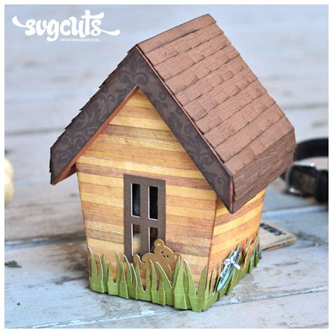 house gift doggie house gift box by thienly azim svgcuts