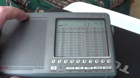 shortwave radio listening  home improve signal   simple wire antenna youtube