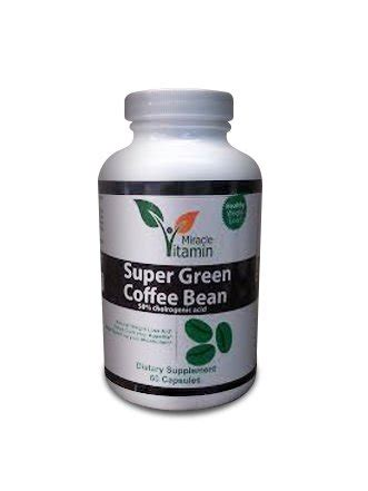 Herbal Green Coffee Bean Miracle Vitamin Green Coffee Bean Extract Weight