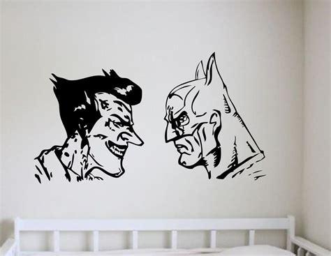 batman wall stickers batman and joker wall decal wall decal wall