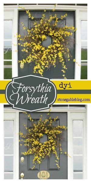forsythia wreath tutorial forsythia wreath wreaths and easy forsythia wreath tutorial forsythia wreath wreaths and
