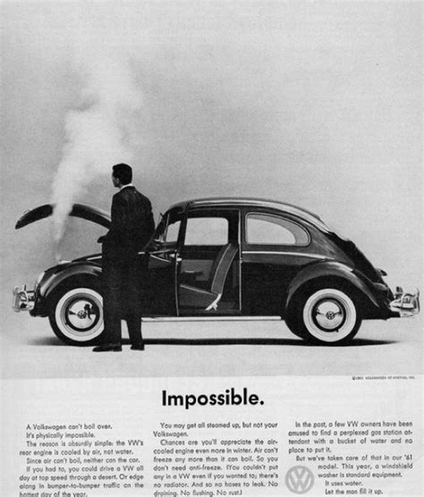 Chappaquiddick Vw Ad All The Great Mad Era Volkswagen Ads