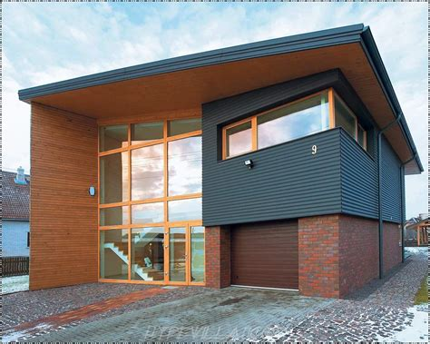 Modern Brick House by New Home Designs Latest Wooden Home Designs