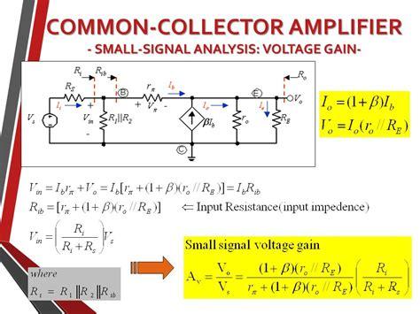 transistor lifier small signal analysis ekt104 analog electronic circuits litar elektronik analog basic bjt lifier part iii dr