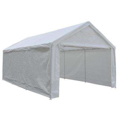 single wide portable garages car canopies carports garages  home depot